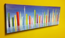 """This image is another angle of view for my painting """"New Atlantis"""" Prints, posters, etc: http://goo.gl/0OqkNv"""